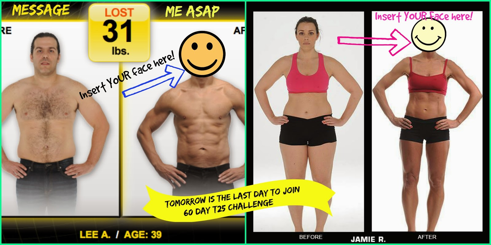 beachbody before and afters, challenge groups, beachbody, fitness transformation, beachbody transformation, t25 transformation