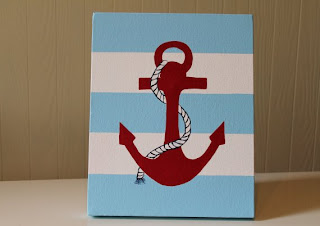 Joanita Bonita: Nautical Nursery Decor - Boy Nursery Anchor Decor
