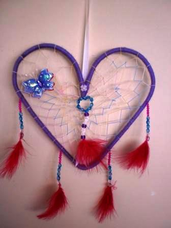 Golden lilly crafts make a dream catcher for Easy to make dream catchers