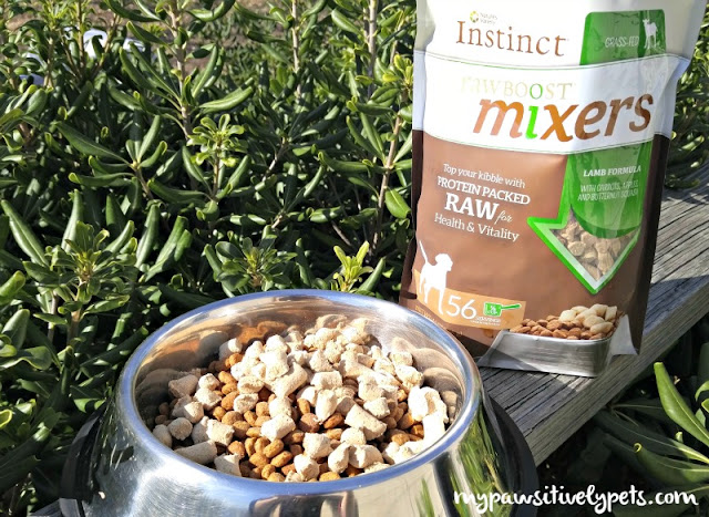 Instinct Raw Boost Mixers - Meal Toppers for Dogs #mixitup