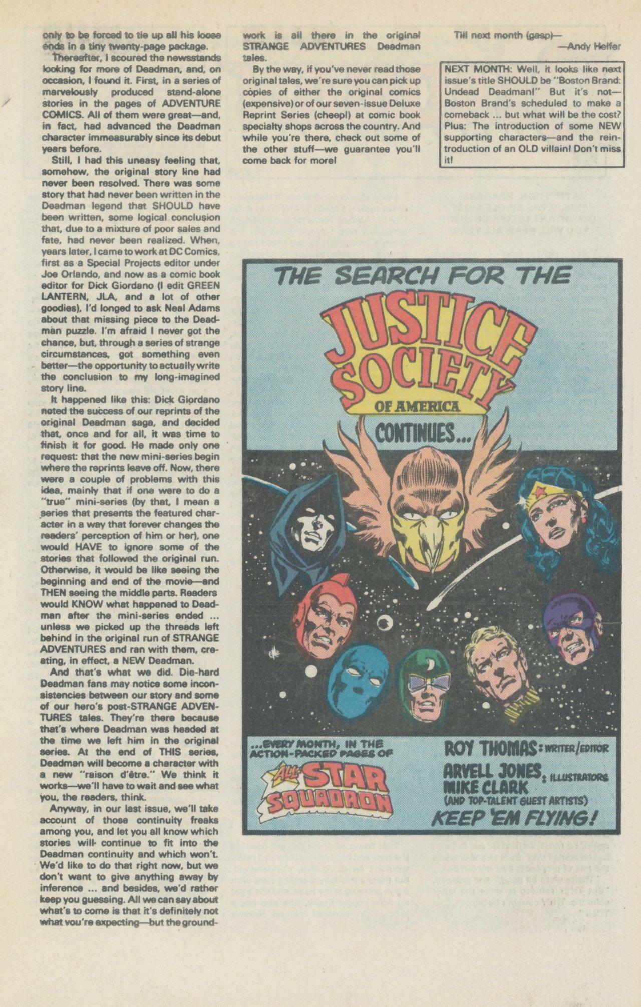 Deadman (1986) #1 #4 - English 35