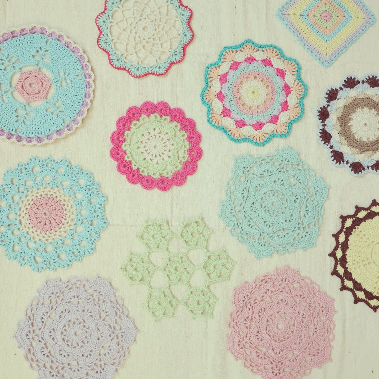 Free Japanese Crochet Doily Patterns : ByHaafner * crochet : A Doily A Day...