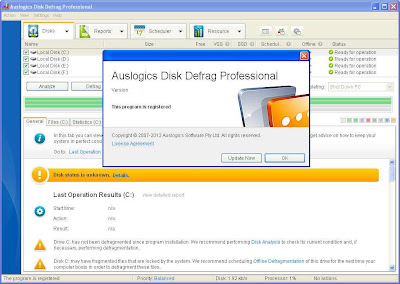 Auslogics Disk Defrag Pro 4.2.1.0 With Serial
