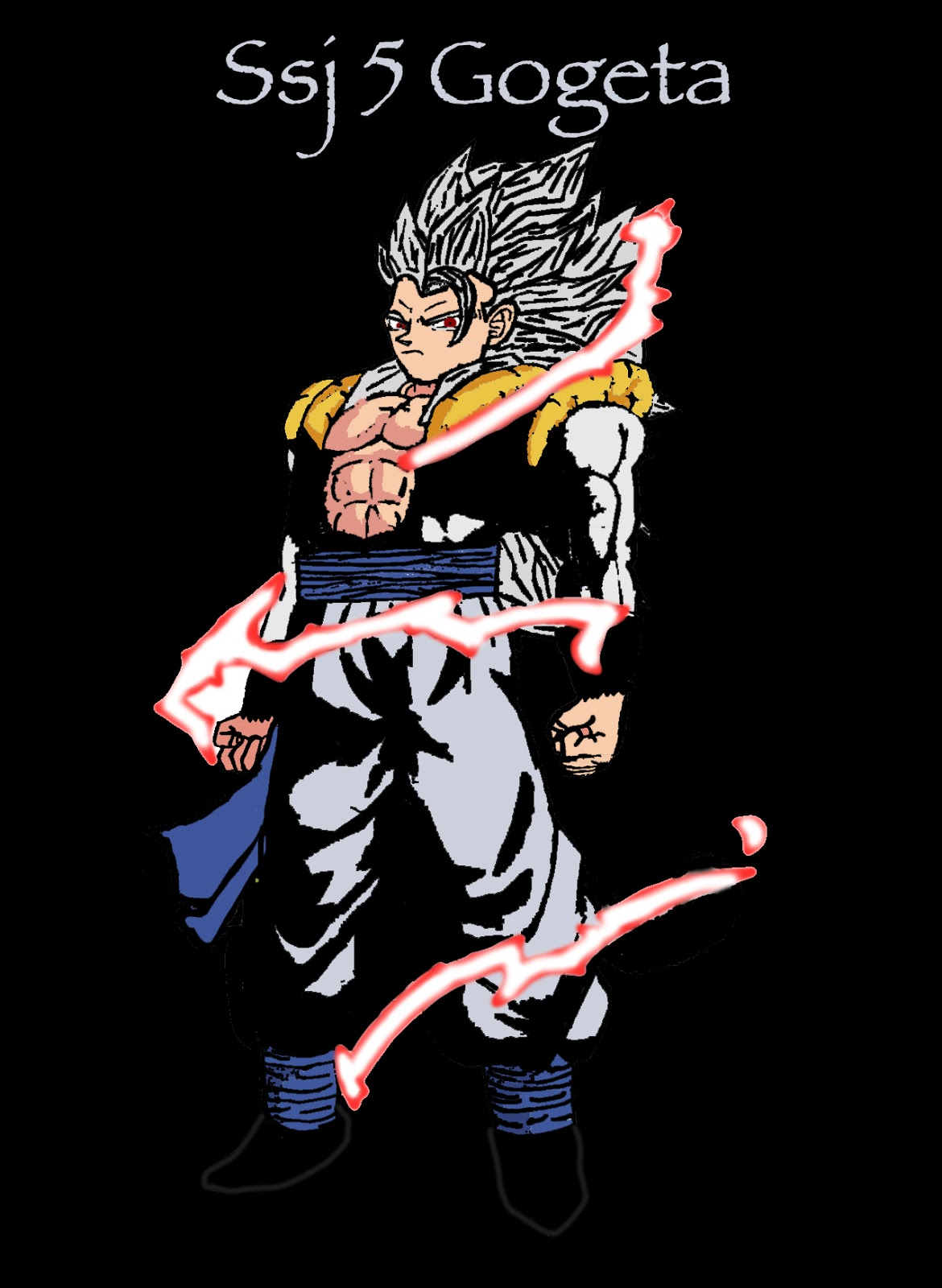 Custom Logo: Super Saiyan 5 Gogeta