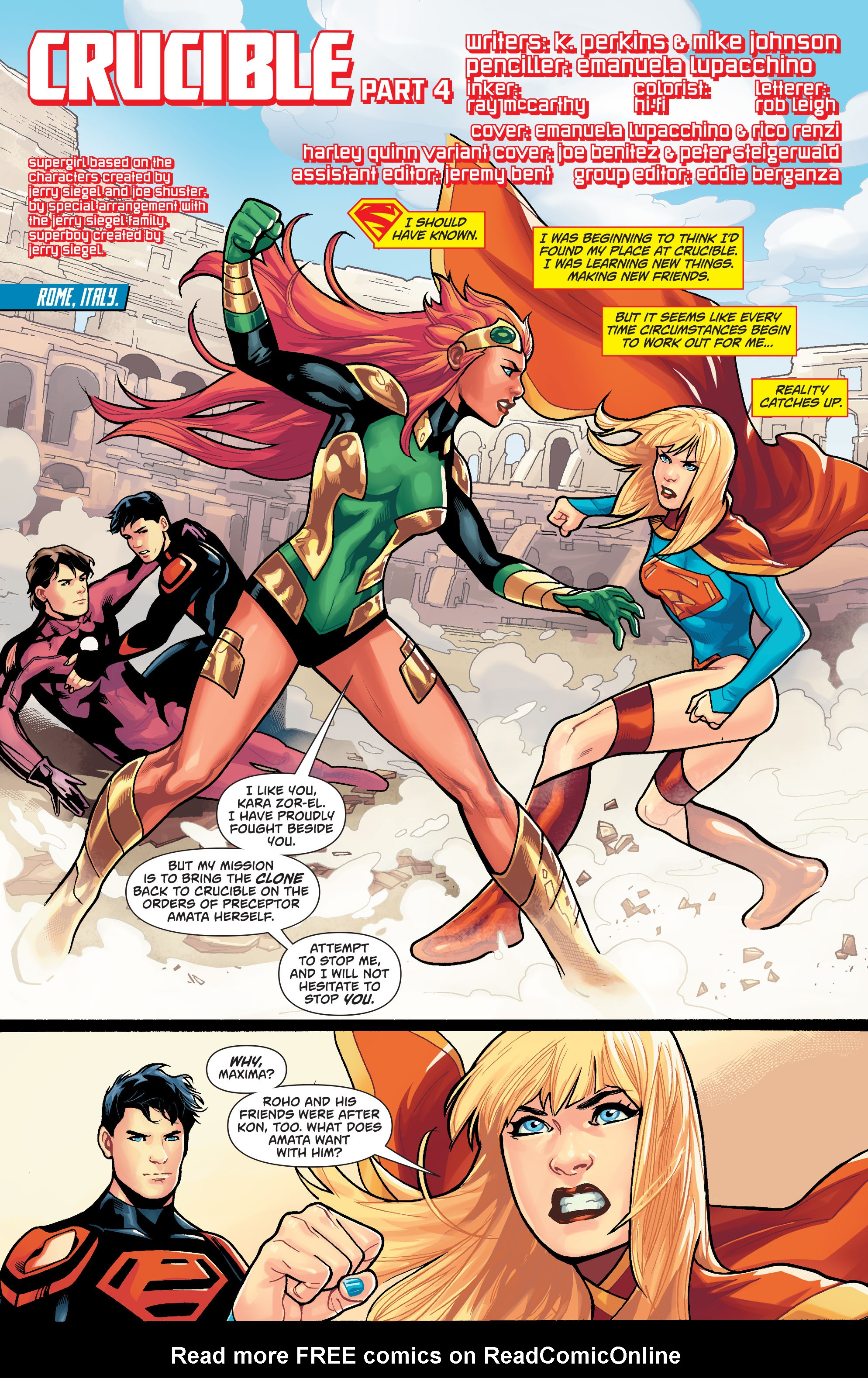 Supergirl (2011) Issue #39 #41 - English 2