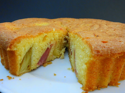 vier vierde cake appel