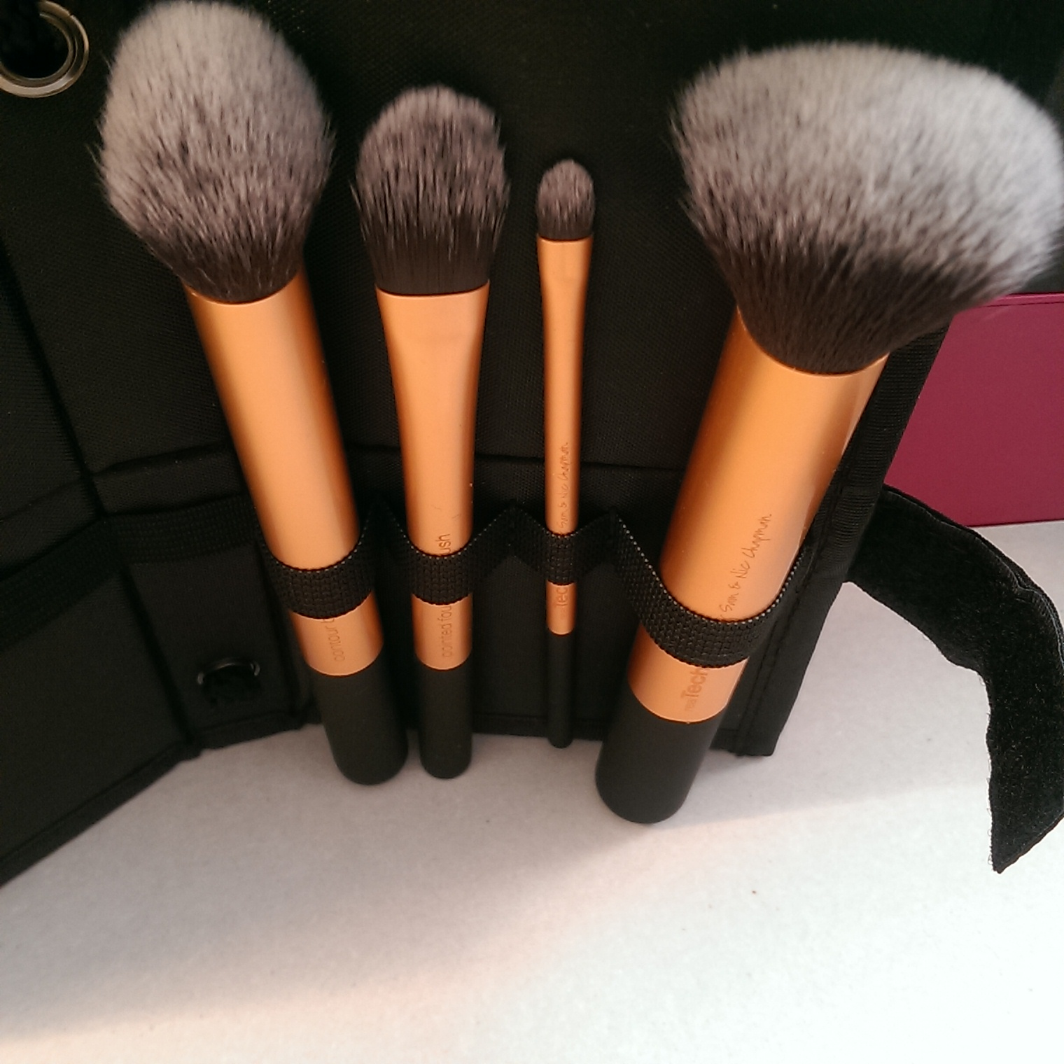 Real Techniques has a vast range of makeup related brushes and sponges which come with tutorials of how to use them best (super helpful!)