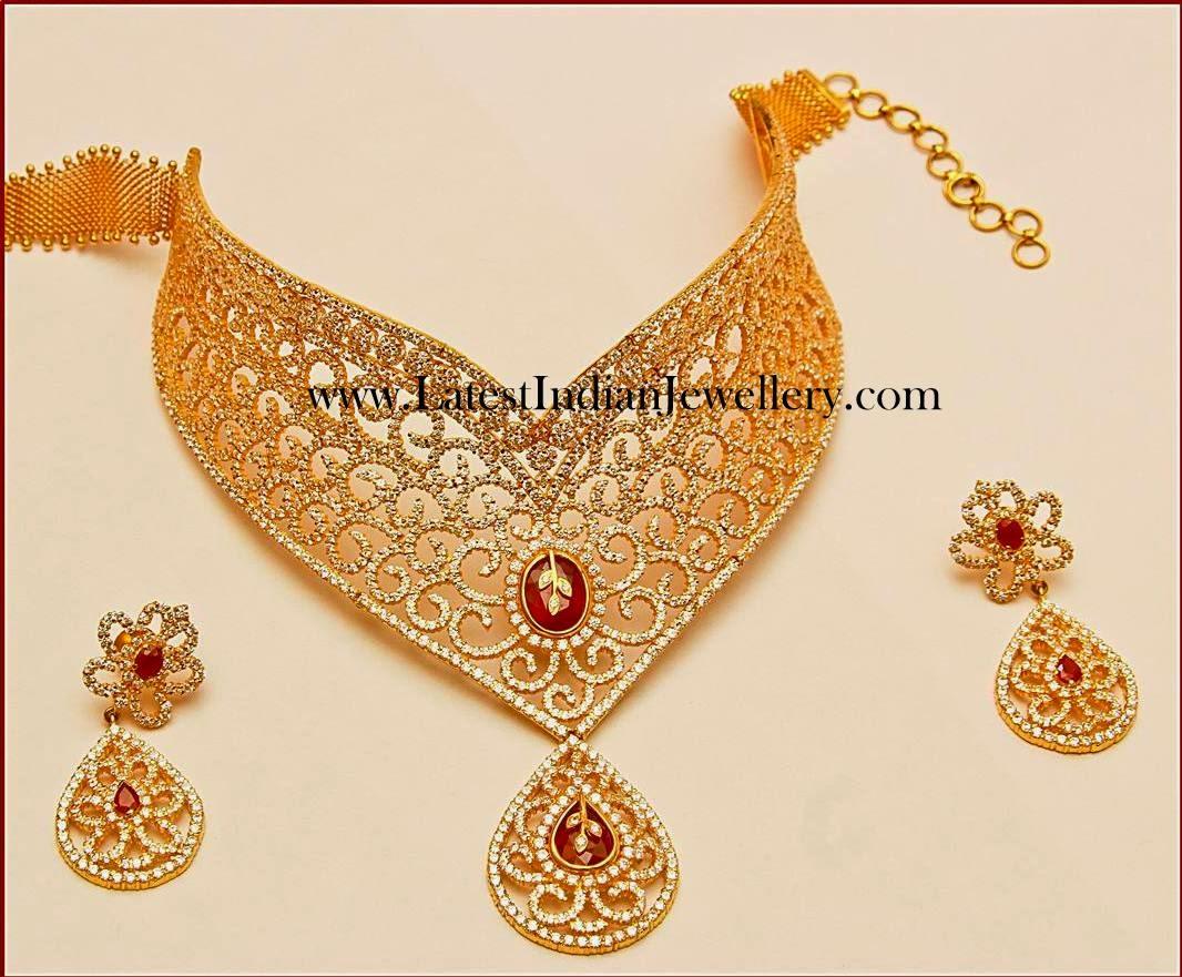 Mor Jewellers Diamond Choker