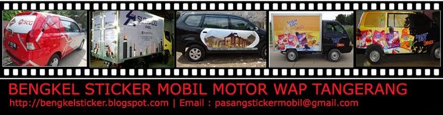 Bengkel Sticker Mobil Motor