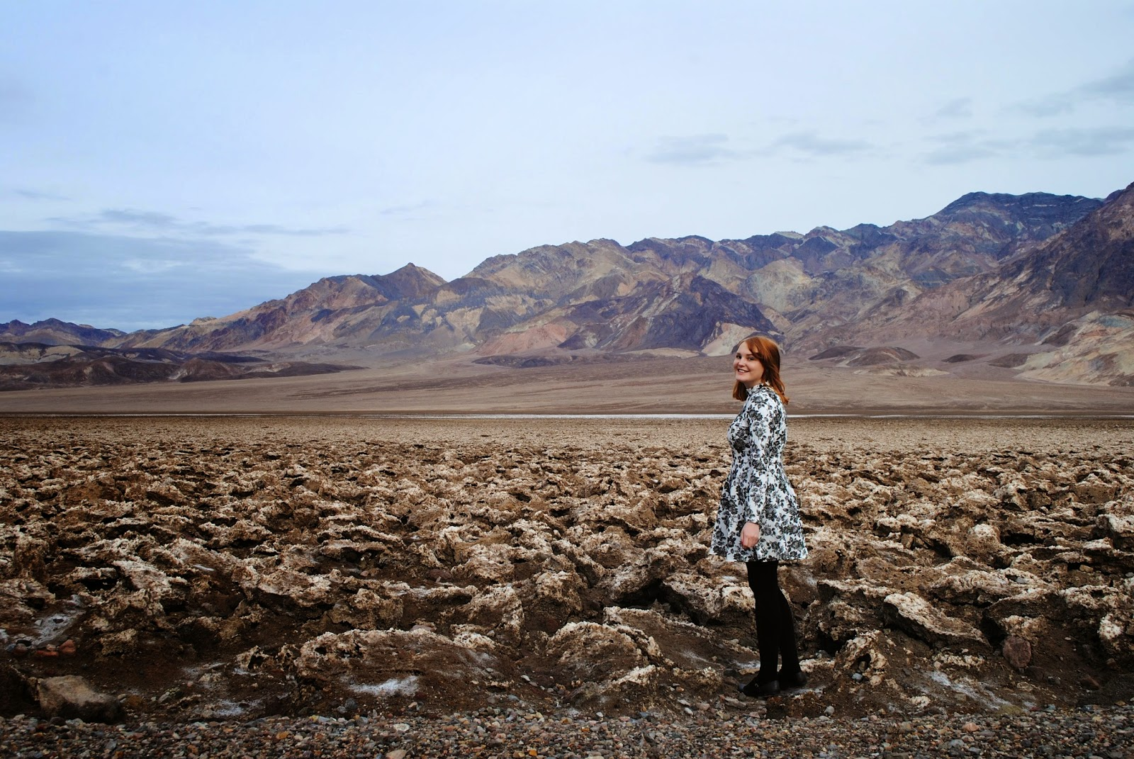Visiting the Mars Like Landscape of Death Valley National Park on a day trip from Las Vegas