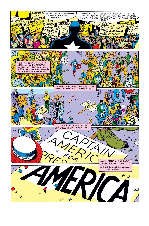 Captain America (1968) Issue #250 #165 - English 18