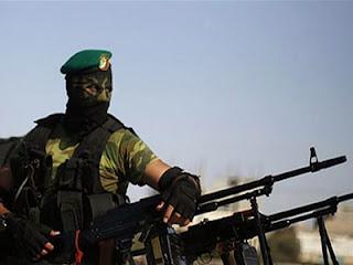 Pasukan Hamas - ilustrasi
