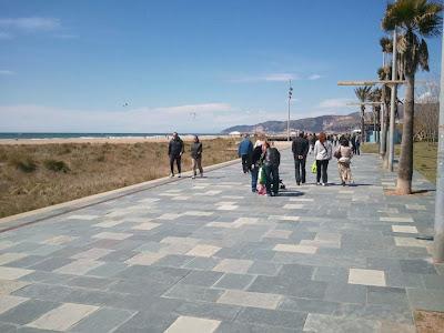 Castelldefels beach and promenade