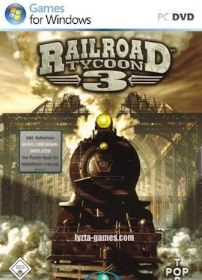 Railroad Tycoon 3 PC Cover