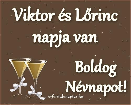 Szeptember 5 - Viktor, Lőrinc névnap