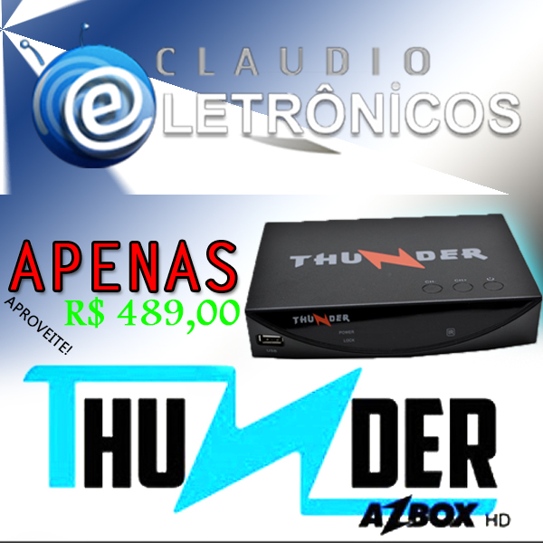 AZBOX THUNDER HD 1080I