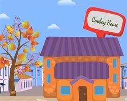 Juegos de Escape Cowboy House Escape