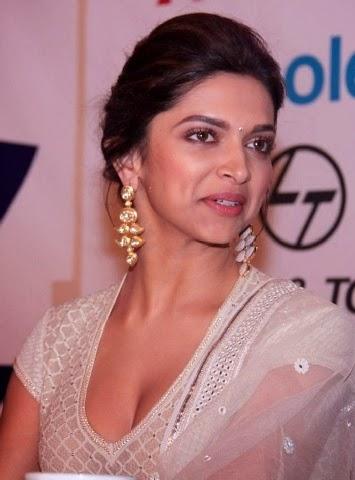 Deepika Padukone Hottest Big round cleavage Pics
