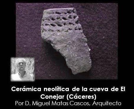 CERÁMICA NEOLÍTICA DE LA CUEVA DE EL CONEJAR