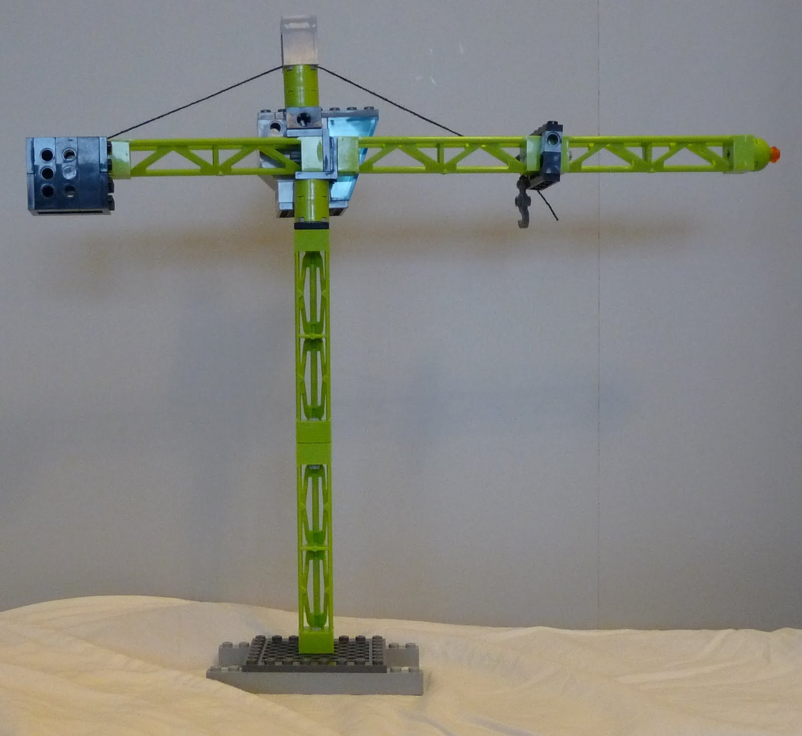 Letters from a broad how to build a lego crane for Make a crane