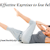 Top 5 Effective Exercises to lose belly fat