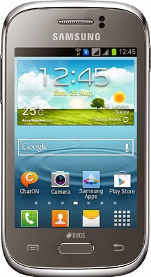 Samsung Galaxy Young GT-S6310 dan GT-S6312