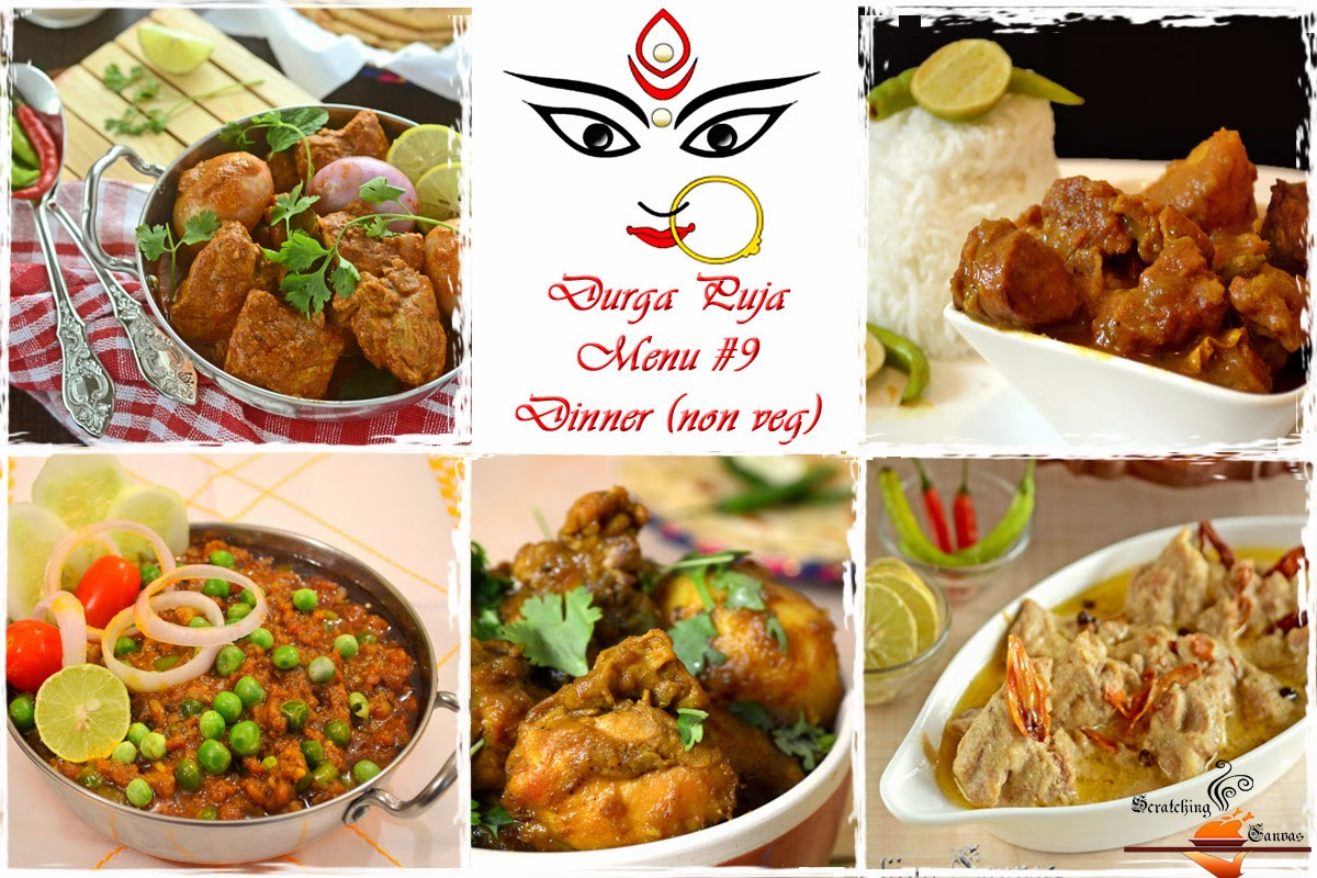 Durga pujor bhuribhoj bengali festival food menu roundup durga puja dinner non veg forumfinder Choice Image
