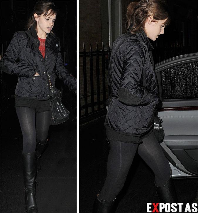 Emma Watson chegando no Soho Hotel em Londres - 26 de Novembro de 2012