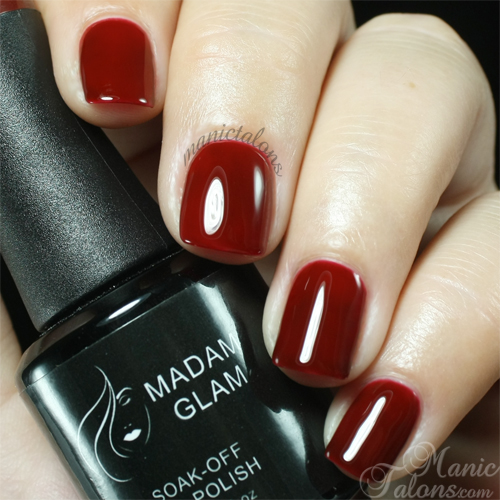 Madam Glam Gel Polish #405 Brick Swatch