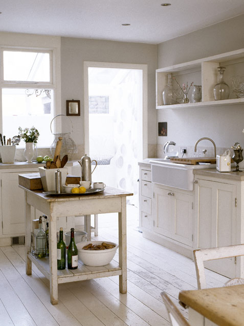 vignette design: Kitchen Cabinets vs. Open Shelves and the ...