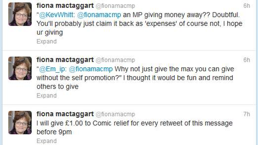 MP Fiona Mactaggart's