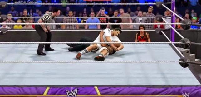 Watch ronaldo 39 wrestle 39 the rock in brilliant wwe 2k15 - Splitmania madrid ...
