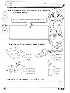 Atividades de Língua Portuguesa para o 5º ano!