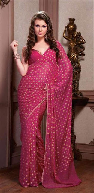 Fancy Saree Trends 2012