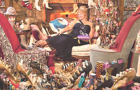 Rekor Dunia Kolektor Sepatu Wanita