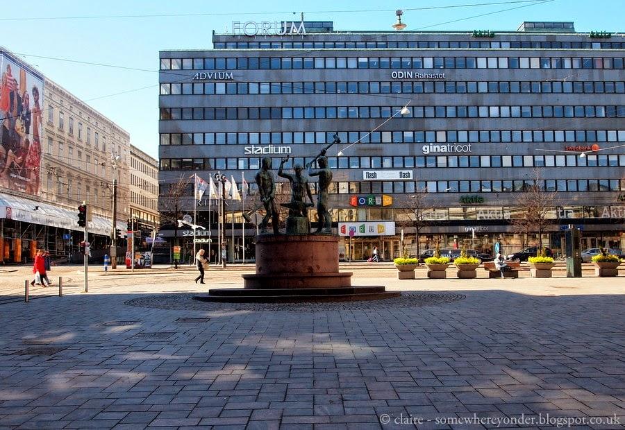 Down town Helsinki