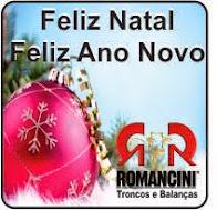 Laranjeiras do Sul:Troncos e Balanças Romancini deseja a todos um Feliz Natal e um próspero ano nov