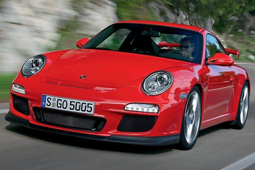 後期デザイン997の本質的な格好良さ!その2   911 GT3 3,8