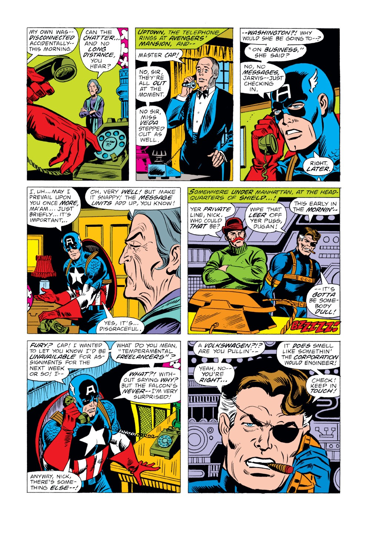 Captain America (1968) Issue #222 #136 - English 6