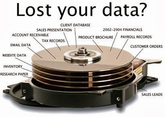 Pemulihan data dari drive eksternal seperti USB