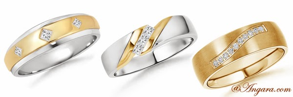 Wedding Bands for Men at Angara