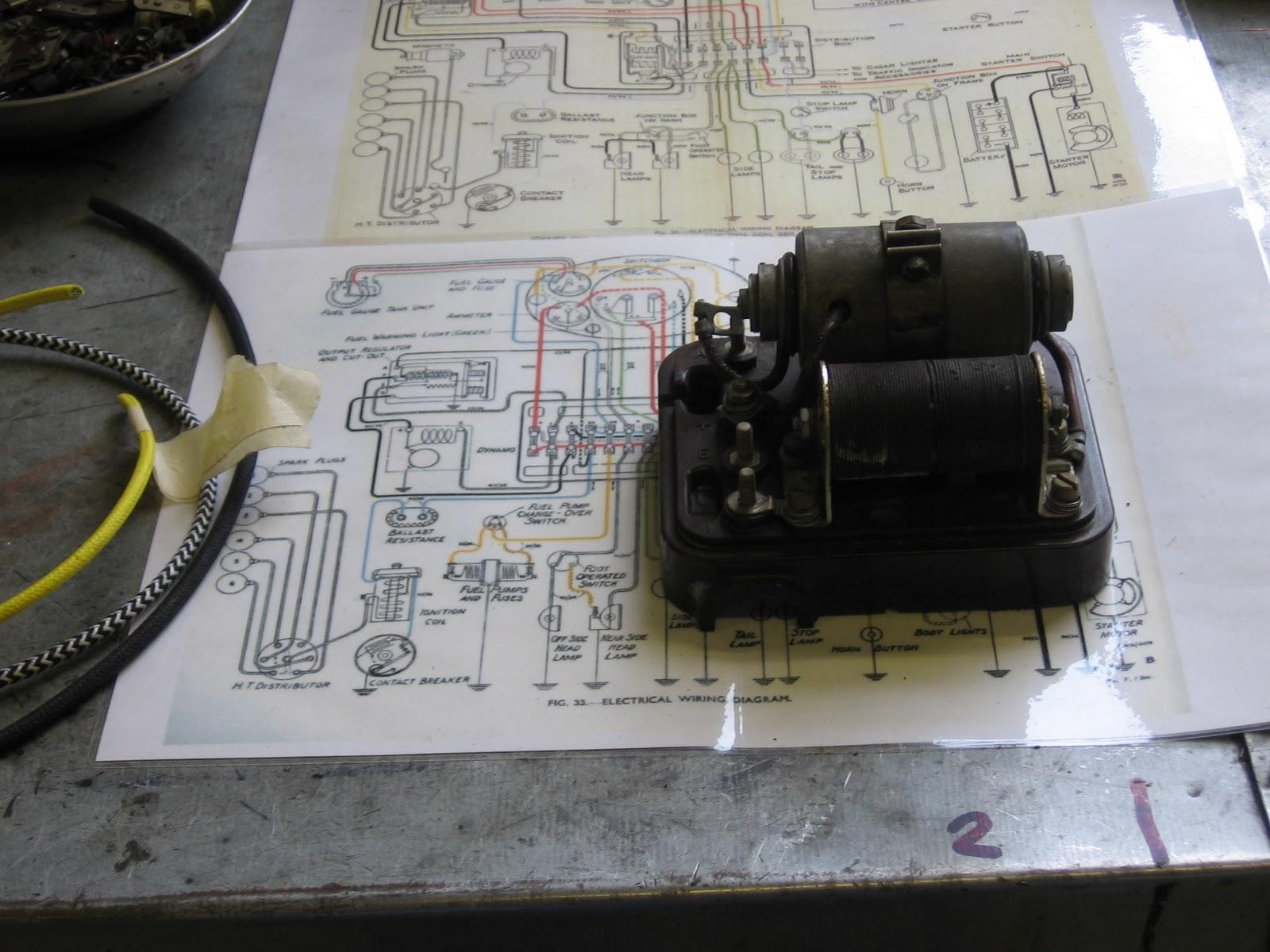 Bentley Wiring Diagram Schemes 2007 Milford Vintage Engineering Ltd Derby 4 1 Re Wire Rh Blogspot Com Continental Pdf Turbo R