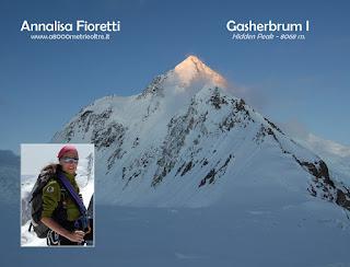 Annalisa Fioretti - Gasherbrum I   2012