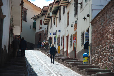 Street in the old town, Cusco