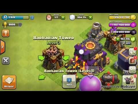 clash of clans unlimited gems hack for android