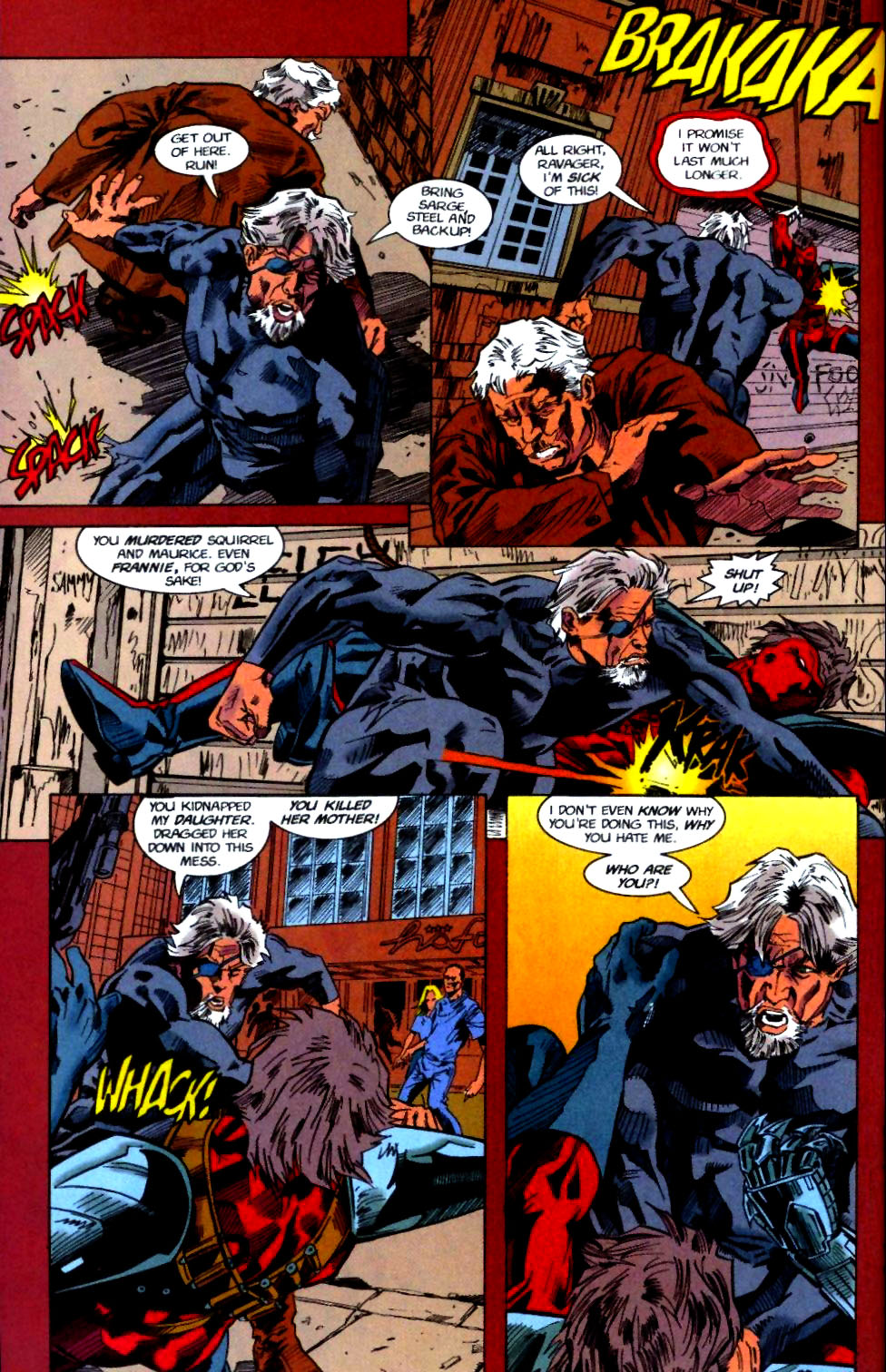 Deathstroke (1991) Issue #50 #55 - English 35