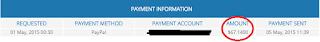 Payout Pertama Pop Under Edomz