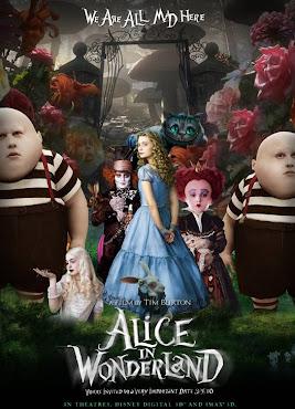 Alicia en el Pais de las Maravillas (2010) DVDRip Latino