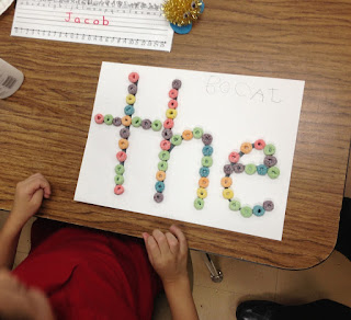 5 Sight Word Activities that are FUN: Fruit Loop Words