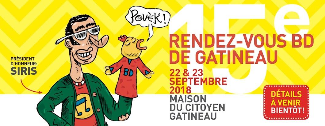 Les rendez-vous de la BD de Gatineau